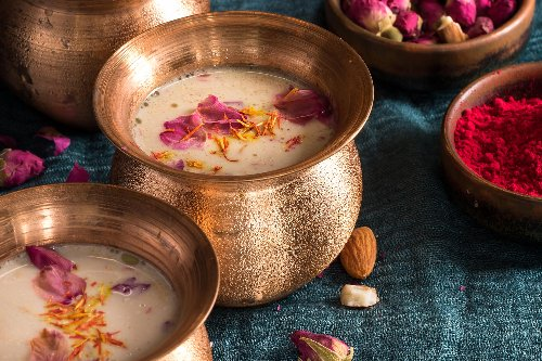 The Story Behind Thandai, the Drink of Choice During Holi