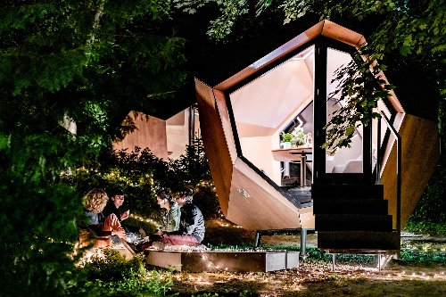 This Sleek Backyard Office Will Cost You $28,000