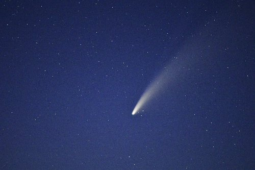 An Astronaut Aboard the International Space Station Just Shared an Epic Video of Comet Neowise