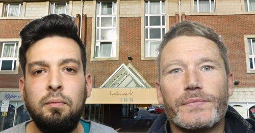 Bungling burglars left empty-handed after smashing into former Derby hotel