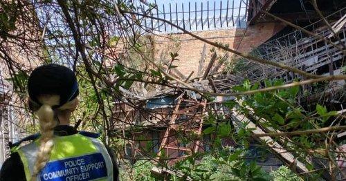 Public warned not to enter 'very dangerous' Derby Hippodrome