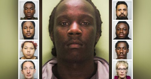 Jail for 11-strong gang who flooded Derby with heroin and crack