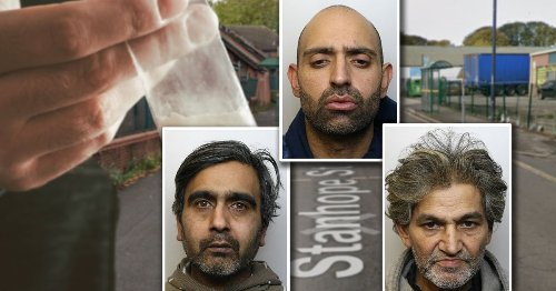 Clever dealer with PTSD and two henchmen jailed for a decade