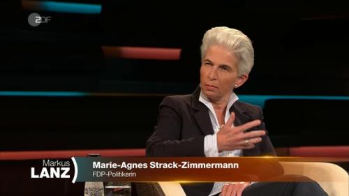 """""""Markus Lanz"""" (ZDF): FDP-Politikerin geht Talk-Master persönlich an – er ist sprachlos"""