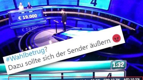 Bundestagswahl: ARD-Panne ruft Verschwörungstheoretiker auf den Plan ++ Eindeutiger Trend in NRW
