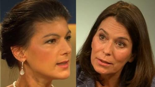 """Anne Will (ARD): Sahra Wagenknecht bläst AfD-Chef den Marsch – """"Widerwärtig, so ekelhaft"""""""