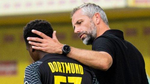 Borussia Dortmund: Rückschlag für BVB-Juwel! Nach großem Sprung muss er diese bittere Pille schlucken