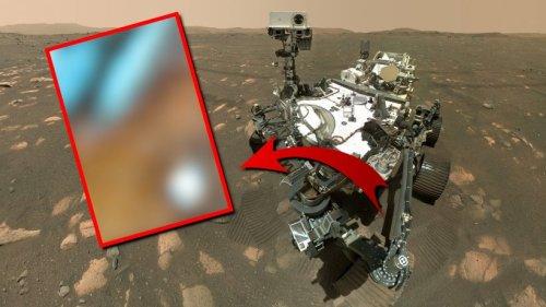 """Wissenschaft: Der """"rote Planet"""" Mars? Diese Nasa-Aufnahme legt eine andere Vermutung nahe"""