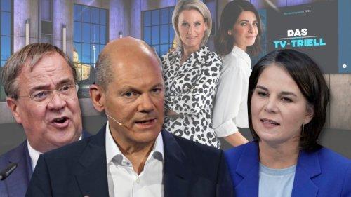 Triell auf Sat.1 und ProSieben: Sieger-Umfrage nach der Sendung ist eindeutig! So reagierten die TV-Zuschauer