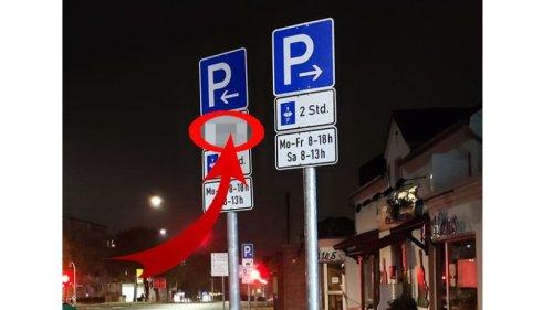 """Bochum: Mann steht vor Parkplatz-Schild und versteht die Welt nicht mehr – """"Langsam reicht es"""""""