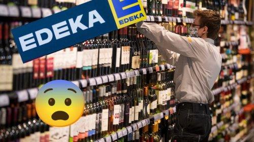 """Edeka: Kunde blickt entsetzt ins Weinregal – """"Was ist das denn?"""""""