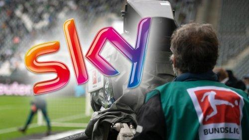 Sky: Als ein Fußball-Fan DAS sieht, muss er zwei Mal hinschauen