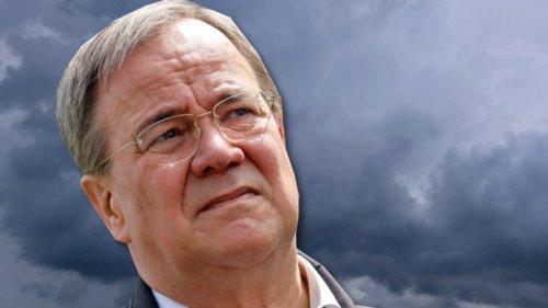Bundestagswahl: Umfrage-Schlag für Laschet! Er ist Hochwasser-Verlierer laut neuer Prognose