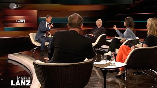 """Markus Lanz (ZDF): Hartz-4-Streit mit Grünen-Politikerin! """"Das find ich jetzt billig"""""""