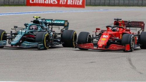"""Formel 1: Vettel schießt gegen Ferrari-Pilot – """"Wenn ich nicht hinschaue, ist es vorbei"""""""