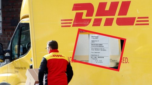 DHL: Bote hinterlässt Kundin wütende Nachricht – das ist der Grund