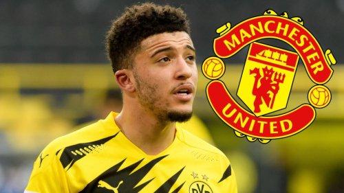 Borussia Dortmund: Kehrtwende! Statt Jadon Sancho will Manchester United jetzt diesen BVB-Star