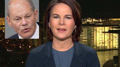 Annalena Baerbock provoziert Scholz in Tagesthemen – TV-Zuschauer erleben den ersten Ampel-Streit