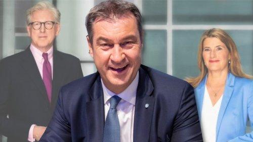 """Schlussrunde zur Bundestagswahl auf ARD/ZDF: Zuschauer empört wegen Söder – """"Es ist eine Sauerei"""""""