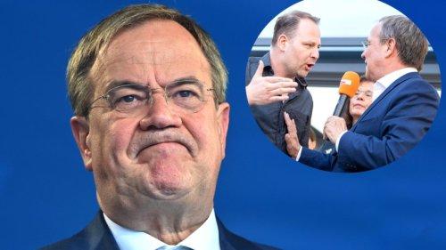"""Armin Laschet: Neuer Patzer vor Bundestagswahl! Spot löst Entsetzen aus – """"CDU – mir fehlen die Worte"""""""