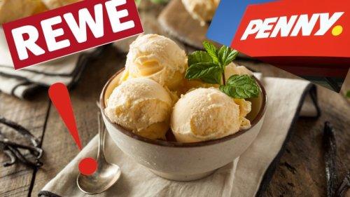 Rewe, Penny und Co: Achtung Rückruf! DIESE beliebten Eissorten solltest du nicht essen!