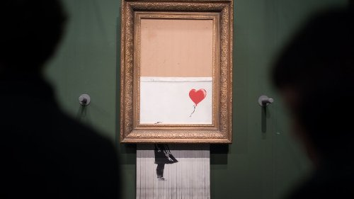 Banksy: Berühmtes Bild für Millionensumme versteigert – das gab es dabei noch nie