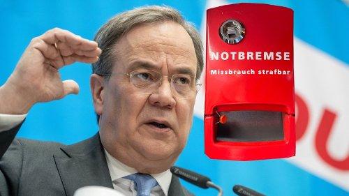 Armin Laschet: Ziehen CDU/CSU die Kanzler-Notbremse? Viele halten DIESE Demütigung tatsächlich für möglich