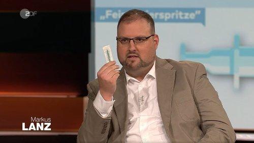 """Markus Lanz (ZDF): """"Ein absoluter Skandal"""" – Arzt rechnet mit Vorgehen in Impfzentren ab"""