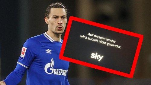 Sky: Üble Panne macht Schalke-Fans stinksauer