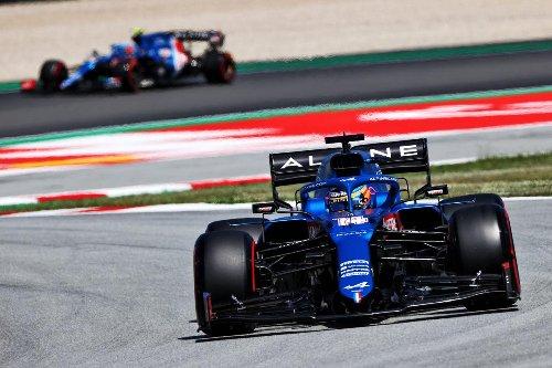 Alpine, los perdedores en el GP de España de F1