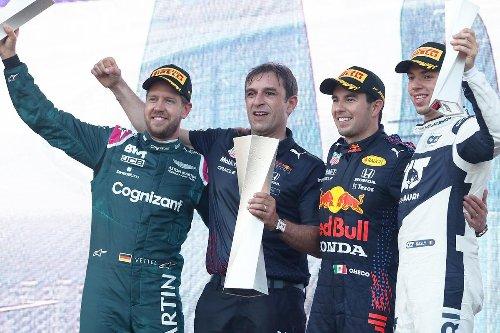 Sin puntos para Mercedes en Bakú
