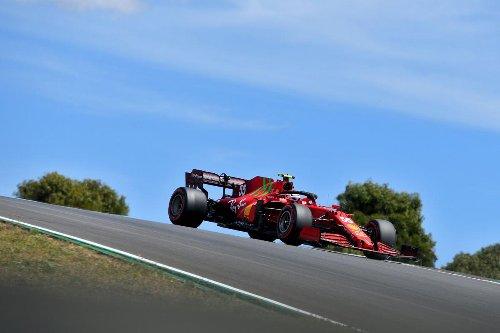 La estrategia de Ferrari deja sin puntos a Sainz en Portugal