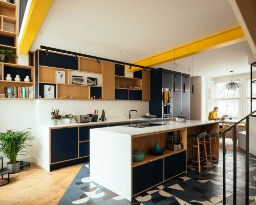 A Brighton House Adds the Basement Flat to Become One Modern Home