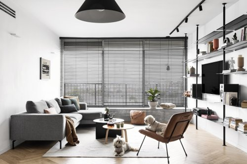 The RB Apartment in Tel Aviv Gets a Warm + Inviting Redesign