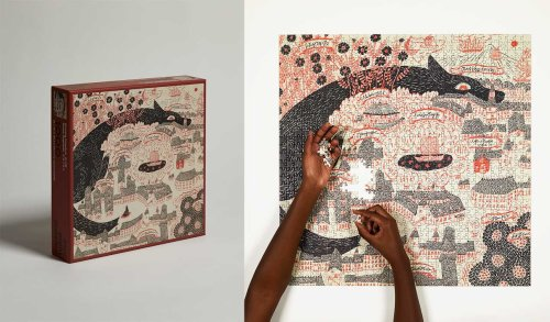 Four Point Puzzles Releases New Puzzle by Japanese Illustrator Sanae Sugimoto