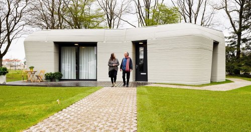dutch couple moves into europe's first 3D printed house in eindhoven