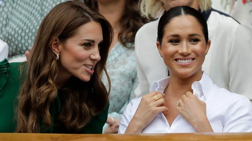 Kate Middleton banned Meghan Markle from Prince Philip's funeral?