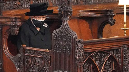 The Widowed Queen Gestures Were Intense At Husband's Funeral: The Body Language Expert Observed