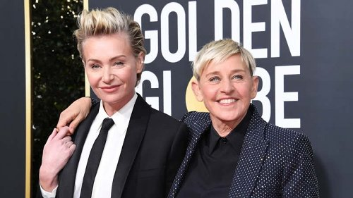 Ellen DeGeneres denies marriage troubles after moving in with Courteney Cox