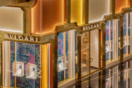 Bangkok now has a Bvlgari flagship store with a façade designed by MVRDV | Design Raid
