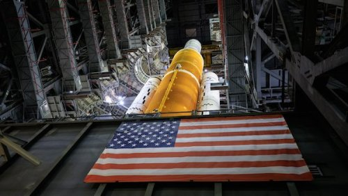 NASA Unveils Sneak Images Of Its Most Powerful Rocket Ever Built