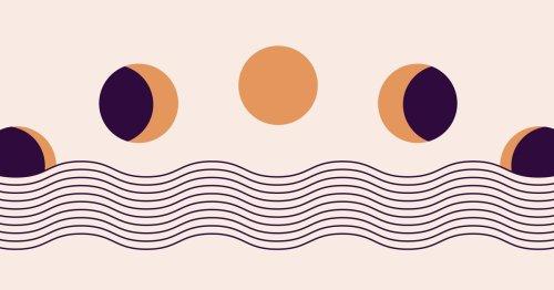 Mondphasen-Girlande selber basteln: So gelingt der Boho-Trend | desired.de