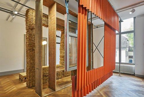 Bauwirtschaft im Kreislauf: Ausstellung Material Loops im HDA Graz