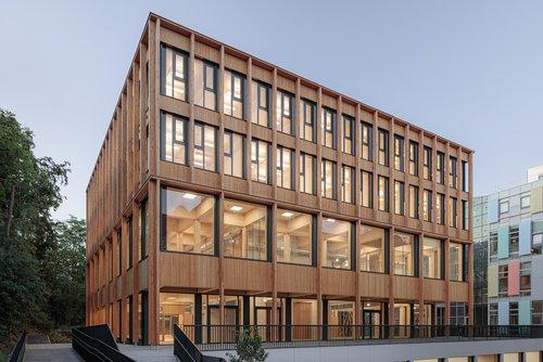 Digitalisierter Holzbau: Boku Wien von SWAP Architekten