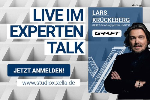 """Studio X – Der Experten Live-Talk am 21. April – Thema """"Bezahlbarer Wohnungsbau"""""""