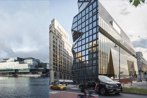 Unsere Favoriten: Drei aufregende Glasfassaden von OMA