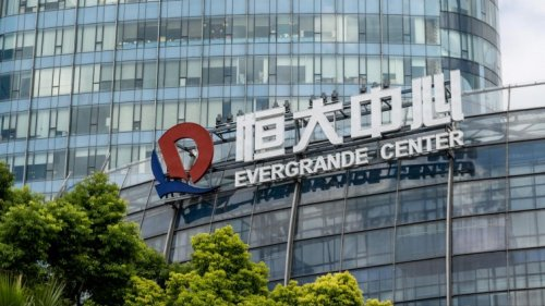 Chinas Immobilienkonzern Evergrande - Probleme nach Plan