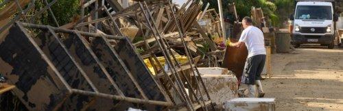 Nach Unwettern Lage in den Hochwassergebieten stabilisiert sich
