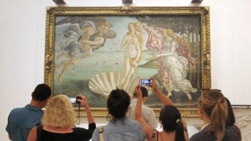 Pornografischer Blick auf Kunst