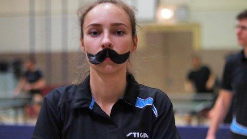 Diskriminierung im Tischtennis - Schnurrbart-Protest für die Gleichberechtigung